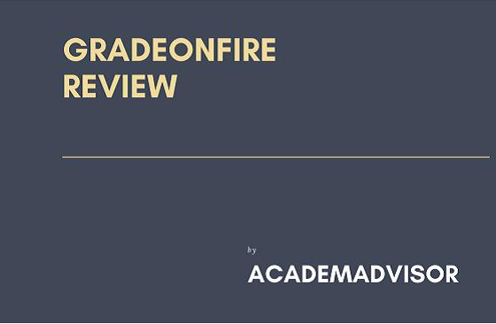 gradeonfire review